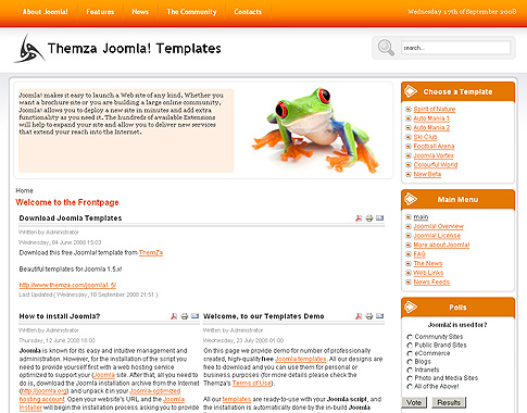 joomla template builder