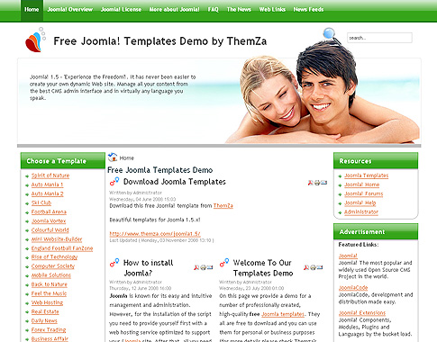 Template site de rencontre joomla