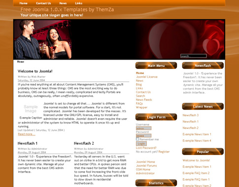 Dating template joomla 2.5