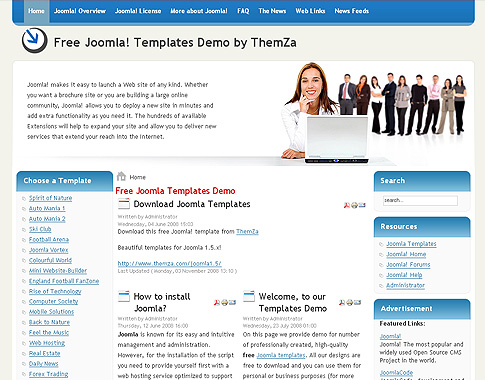 Free joomla 15x templates business affair by themza the business affair free joomla template offers a rich set of layout customization options and functionalities including fbccfo Images