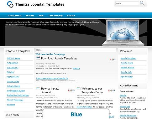 Computer Gesellschaft - ein kostenloses Design-Thema von ThemZa (für ...