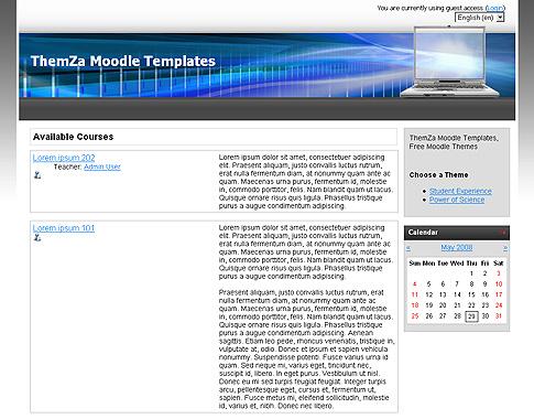 Free Moodle Themes: Digital University by ThemZa