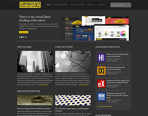 Corporate Drupal Themes