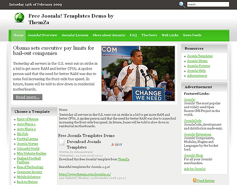 Joomla+news+template