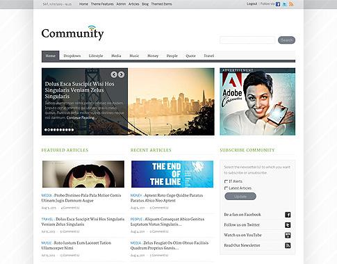 community template