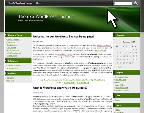 Haz Click y Mira\' – plantilla gratuita para WordPress diseñada por ...