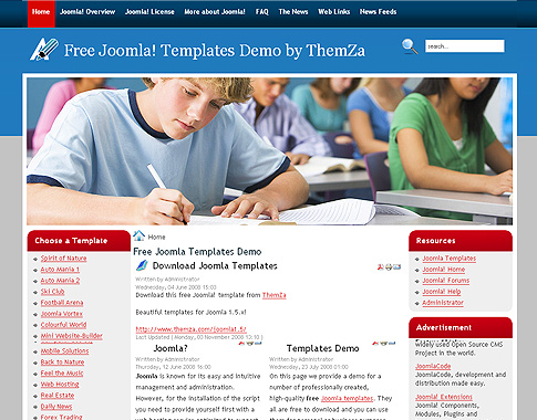 Free School Templates. 31 school website themes templates free ...