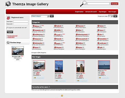 4images Themes - ThemZa Free Templates