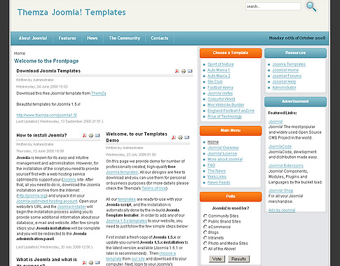 Rise of technology free joomla 2 5 template for How to upload a template in joomla