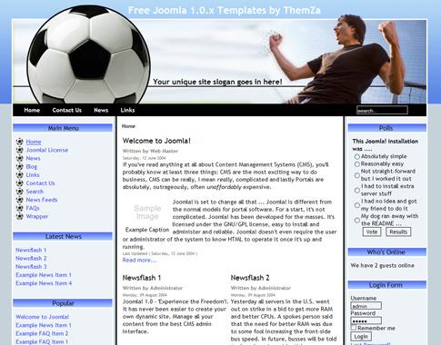 20+ best joomla sport templates & themes | free & premium templates.