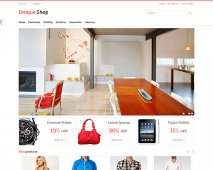 UniqueShop Responsive