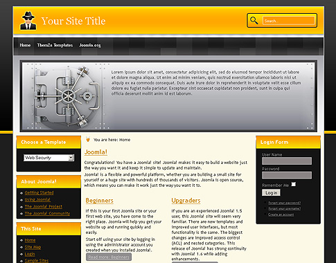 Menu 2.5 drop free download templates down with joomla