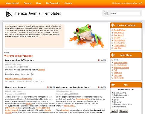 website builder template for joomla 2 5. Black Bedroom Furniture Sets. Home Design Ideas