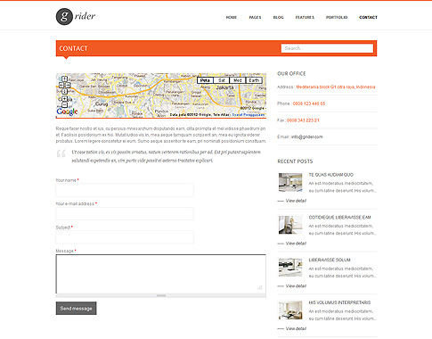 free drupal html5 templates