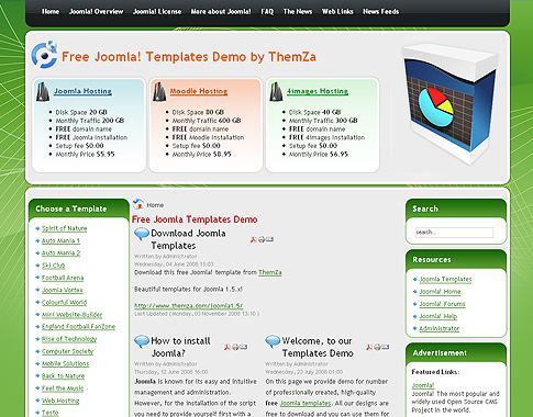Web hosting template for joomla 2 5 x for How to upload a template in joomla
