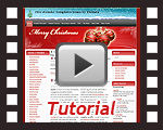 'Christmas Fantasy' Joomla 1.5 template