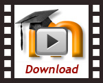 download a Moodle template