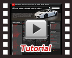 'Top Gear' Joomla 1.5 template